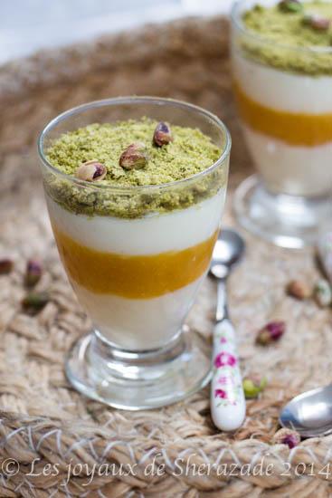 Mahalabiya, dessert pour ramadan