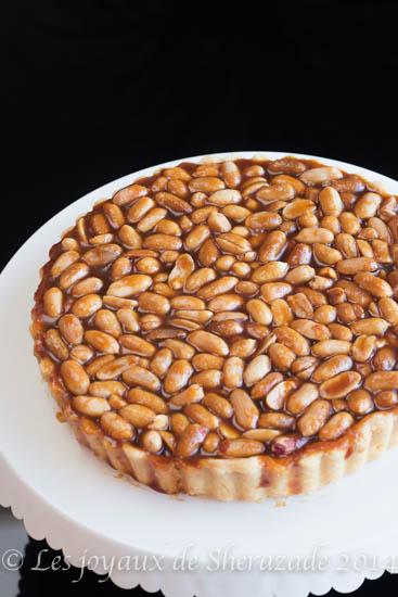tarte au cacahuètes façon nouga