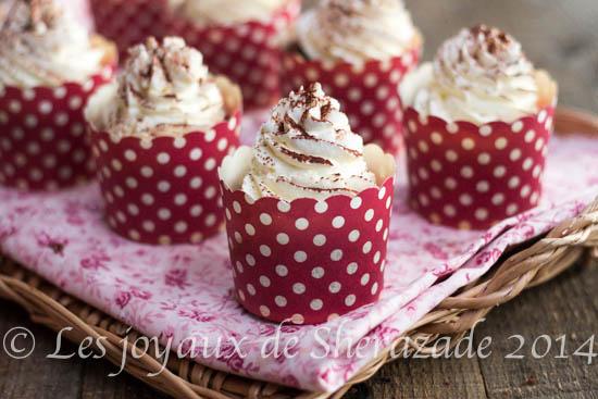 Cupcakes façon tiramisu