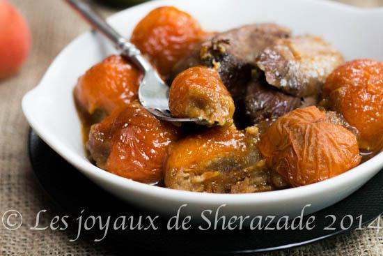 tajine aux abricots farcis
