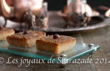 kalb el louz, chamia, recette ramadan