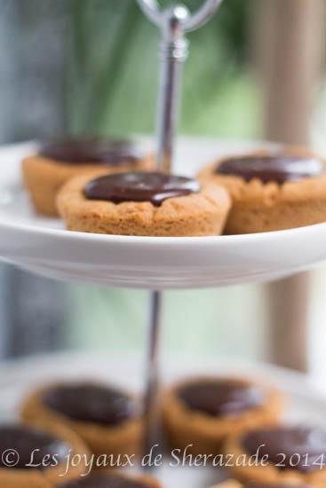 Cookies à la ganache de chocolat