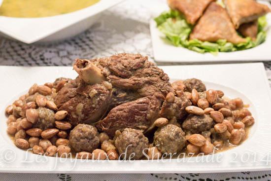 Mtewem sauce blanche / cuisine algérienne