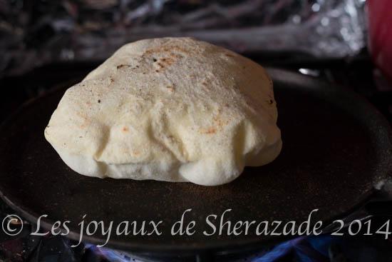 pain pita facile, pain libanais