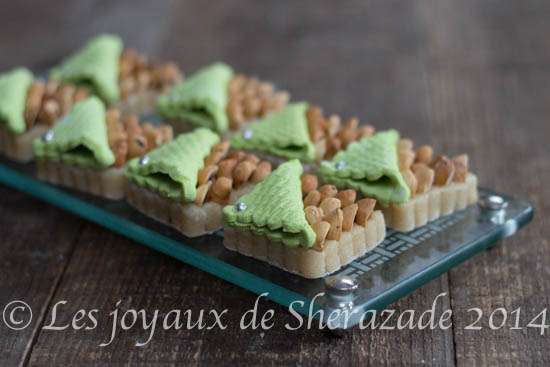 Harissa aux amandes / harissat el louz