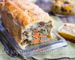 tarte salée à la pâte feuilletée facile