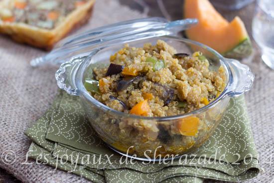 Recette de quinoa aux légumes