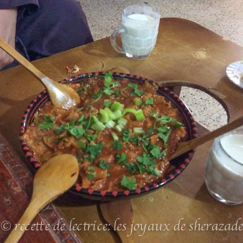 zviti, plat traditionnel algérien