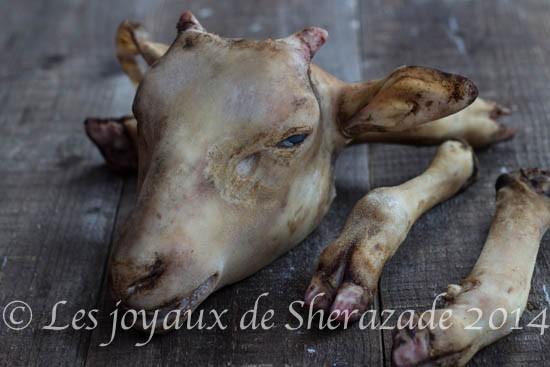 bouzelouf tete de mouton