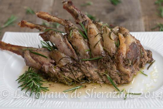 recette de côtelettes d'agneau