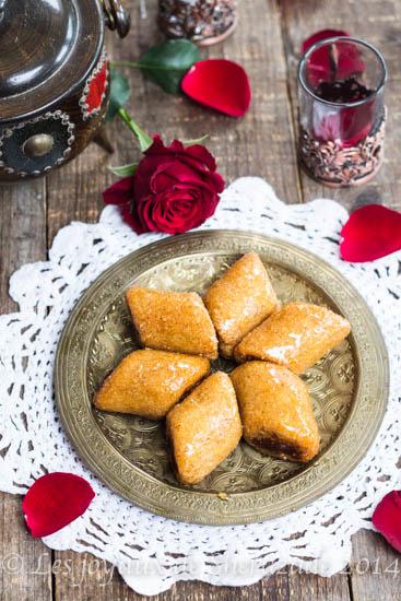 Makrout aux amandes et miel