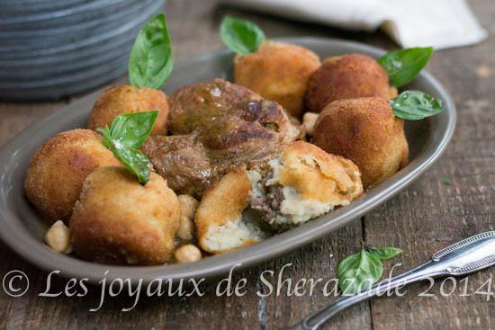 recette algérienne, recette à l'agneau