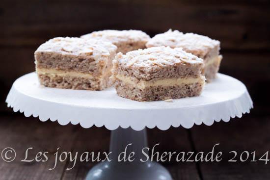 Le gâteau russe, chez les pâtissiers algériens
