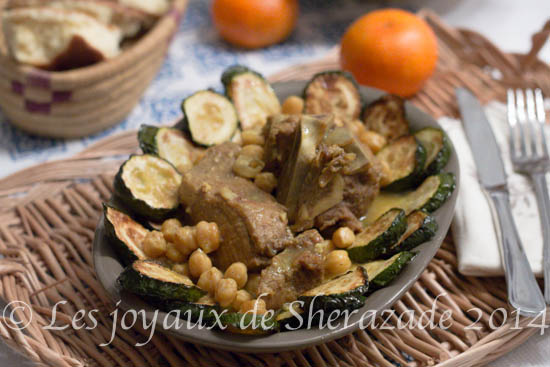 Ragoût de courgettes / cuisine algérienne
