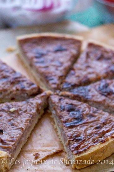 tarte aux oignons