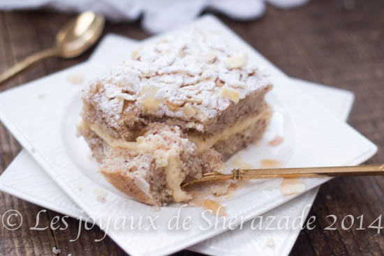 gateau le russe, gâteau algérien