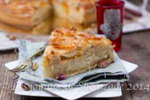 l'alcazar , tarte aux amandes