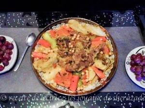 Couscous marocain du Rif