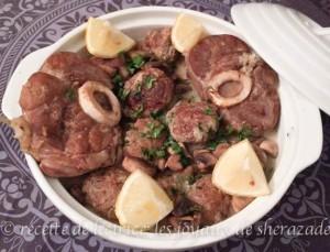 tajine de kefta cuisine algérienne