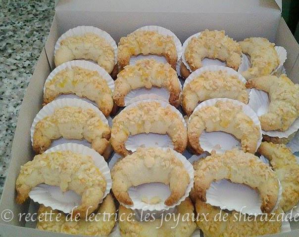 Gateaux algeriens traditionnels tcharek