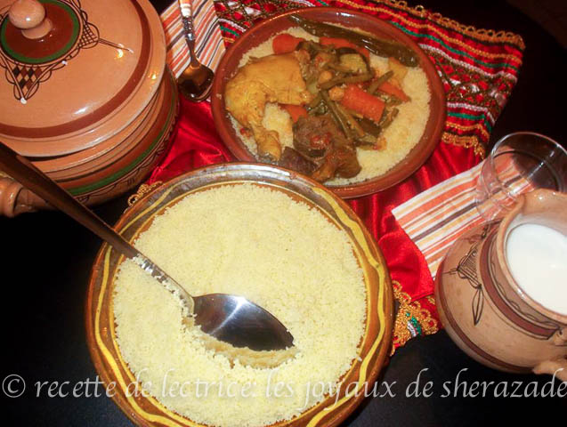 Couscous Kabyle