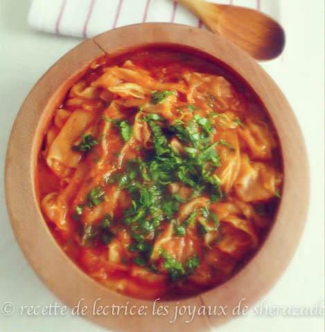 Recette de lectrices les joyaux de sherazade for Cuisine kabyle