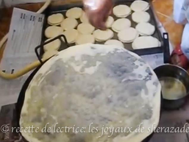 recette de trid , rougag, feuilles de chakhchoukha