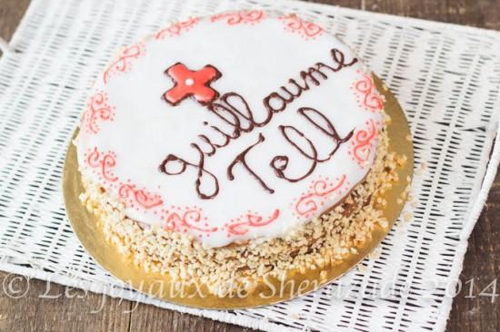 Entremet Guillaume Tell , meilleur pâtissier