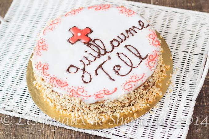 Entremet Guillaume Tell, meilleur pâtissier