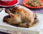 poulet farci à l'indienne
