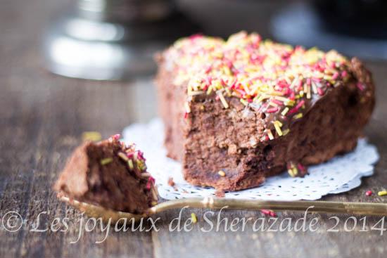 Mousseline au chocolat