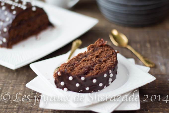 recette de buche au chocolat