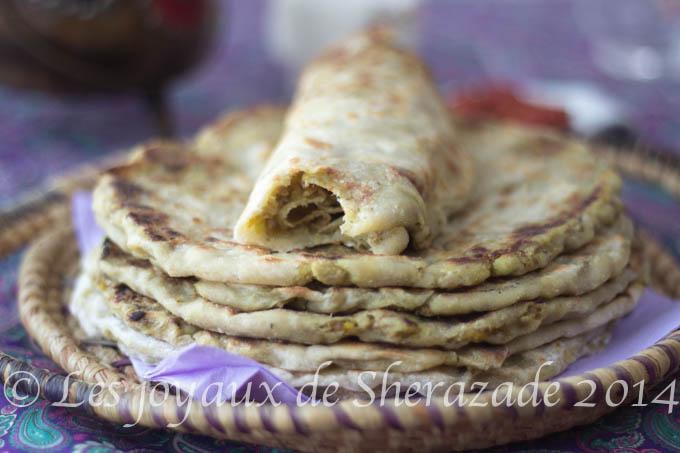 Cuisine indienne : Parathas farcis