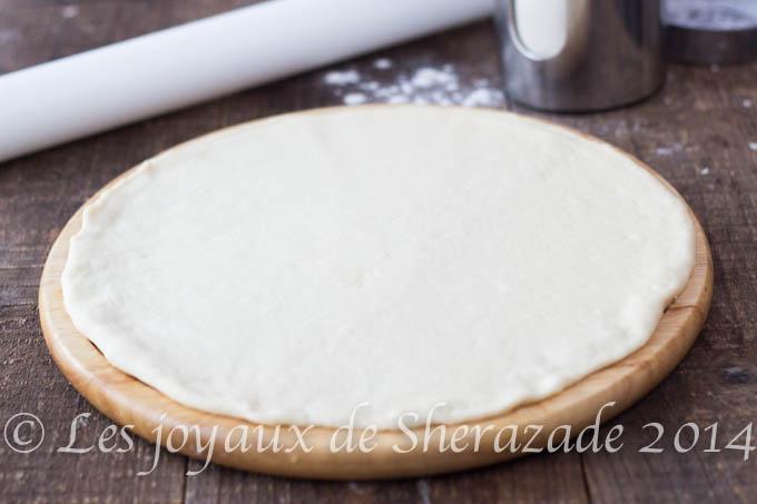 Pâte à pizza maison moelleuse