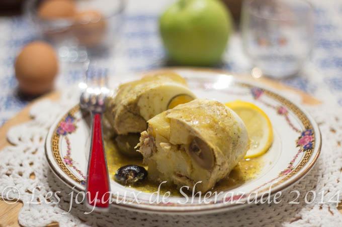 tajine algérien au poulet