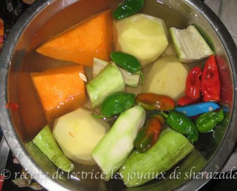 recette de chakhchoukha