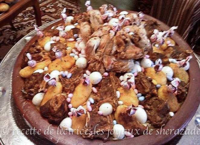 recette de chakhchoukha biskria