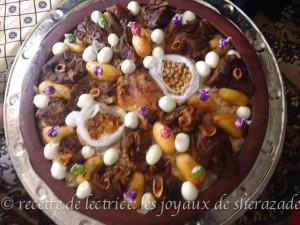 chakhchoukha recette traditionnelle algérienne