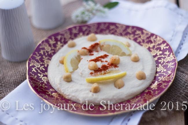 houmous libanais, recette traditionnelle