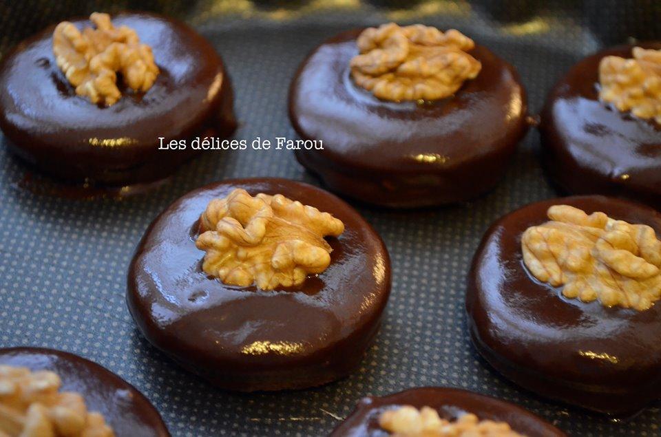 Biscuit au cacao en poudre