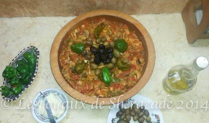 Markhouss ou mahkouk , cuisine algérienne