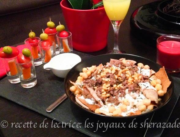 Cuisine libanaise: Fateh libanaise