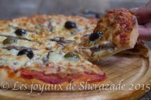pizza napolitaine fait maison