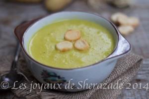 Soupe aux poireaux pommes de terre