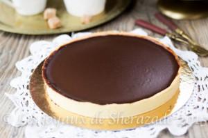 Tarte au chocolat de Frédéric Anton