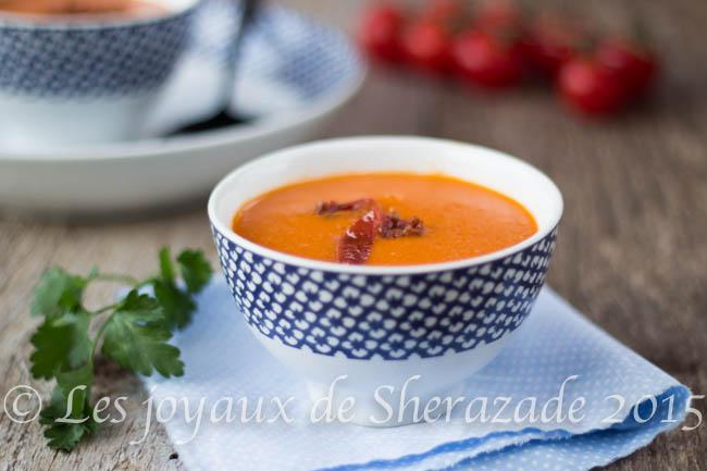 recette de soupe de tomate
