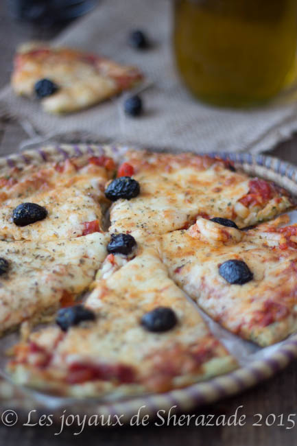 recette pâte à pizza moelleuse