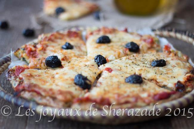 pâte à pizza aux courgettes
