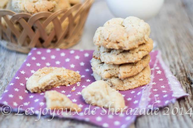 biscuit au flocons d'avoines