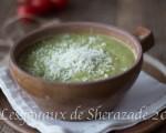 soupe de courgettes facile